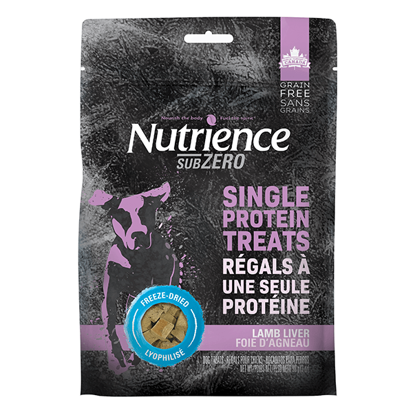 Nutrience SunZer Lamb Liver Single Protein Treats | Pisces Pets