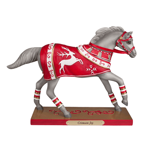 Painted Ponies Figurines - Crimson Joy | Pisces Pets