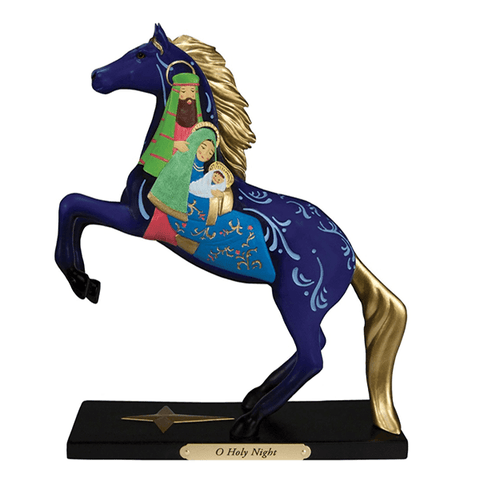 Painted Ponies Figurine - O Holy Night | Pisces Pets