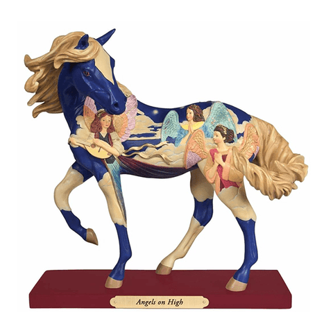 Painted Ponies Figurine - Angels on High | Pisces Pets