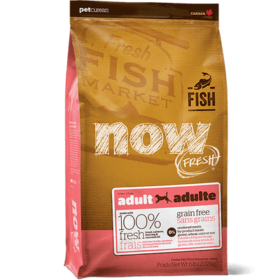 NOW Dog Food Fish Recipe | Pisces Pets