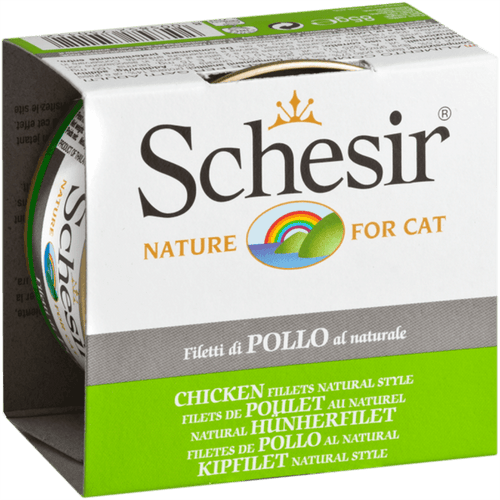 Schesir Adult Cat Natural Chicken 85 g | Pisces Pets