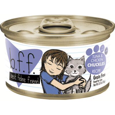 Weruva BFF Cat Tuna & Chicken Chuckles 85 g | Pisces Pets