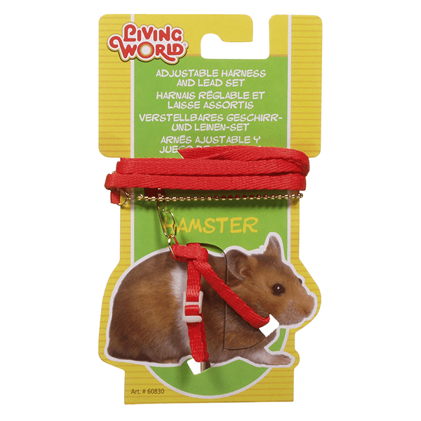 Living World Figure 8 Harness and Lead Set For Hamsters