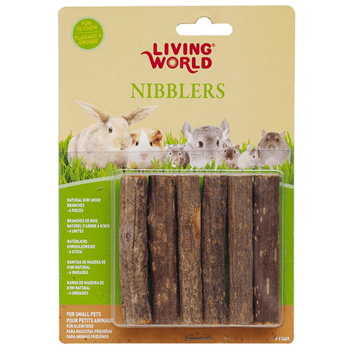 Living World Nibblers Kiwi Sticks Wood Chews