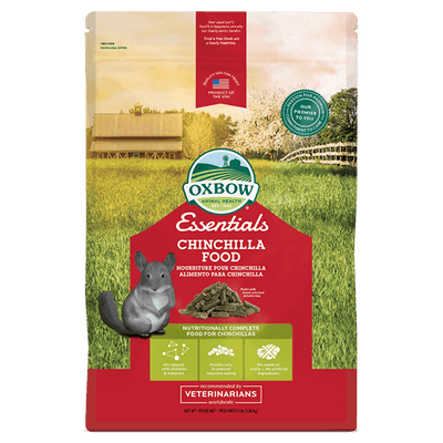 Oxbow Essentials Chinchilla Food | Pisces Pets