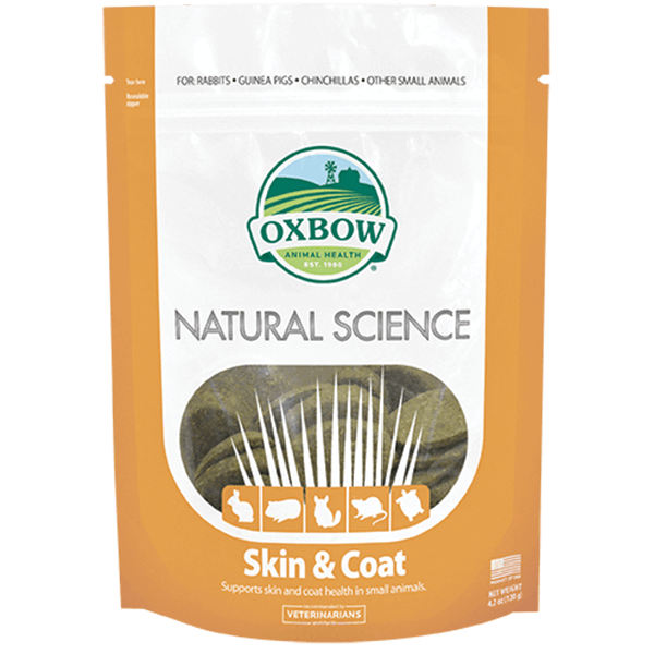 Oxbow Natural Science Skin & Coat Support | Pisces Pets