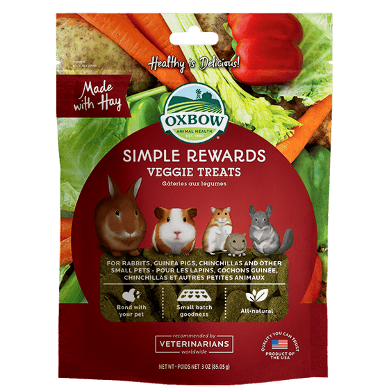 Oxbow Simple Rewards Veggie 85.05 g | Pisces Pets