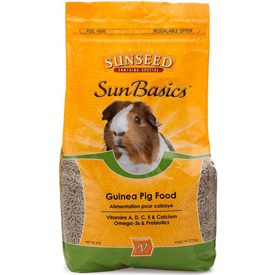 Sunseed Sun Basics Guinea Pig Food - 2.72 kg | Pisces Pets