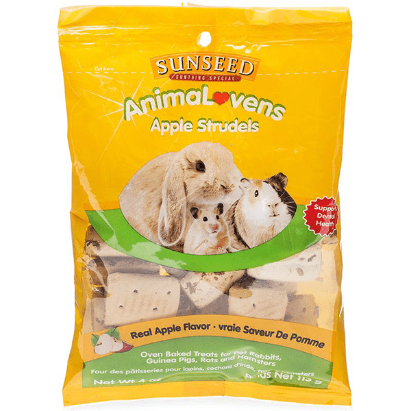 Sunseed AnimaLovens Apple Strudels - 113 g | Pisces Pets