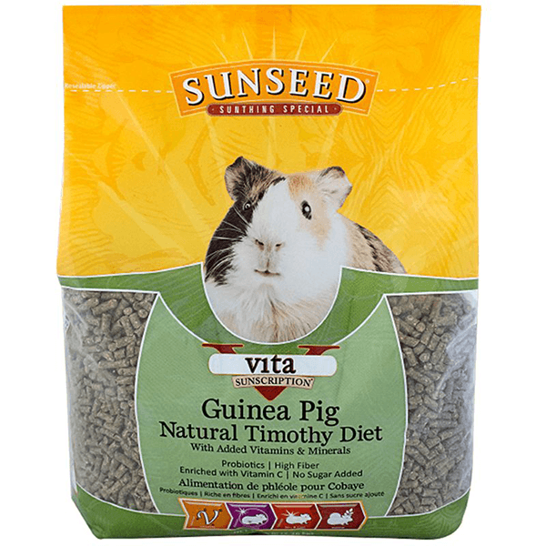 Sunseed Vita Sunscription Guinea Pig Timothy Diet - 2.26 kg | Pisces Pets