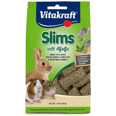 Vitakraft Slims with Alfalfa Hay - 50 g