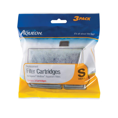 Aqueon Replacement Filter Cartridge Small 3 Pack | Pisces Pets