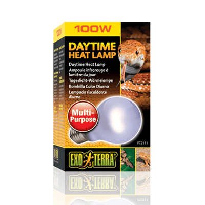 Exo Terra Daytime Heat Lamp - 100 W | Pisces Pets