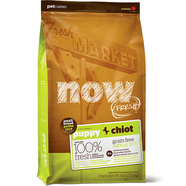 NOW Small Breed Puppy Food | Pisces Pets