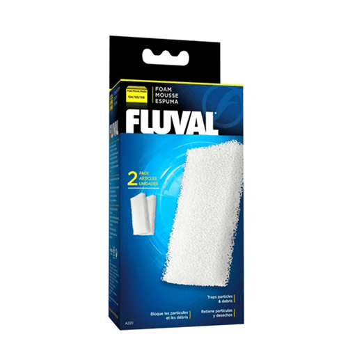 Fluval 104/105/106 Foam Filter Block - 2 Pack | Pisces Pets
