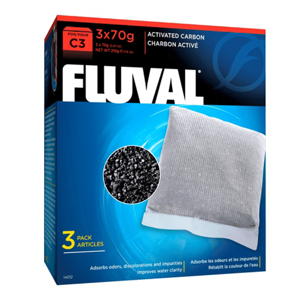 Fluval C3 Activated Carbon - 3 Pack | Pisces Pets