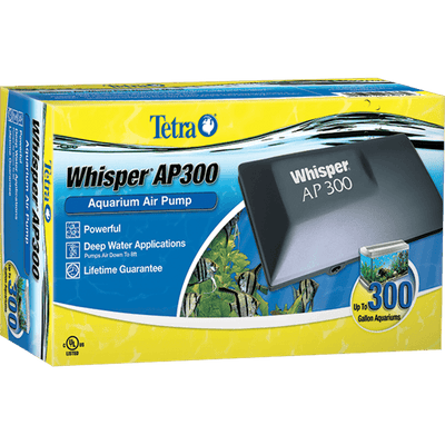 Tetra Whisper AP300 Air Pump | Pisces Pets