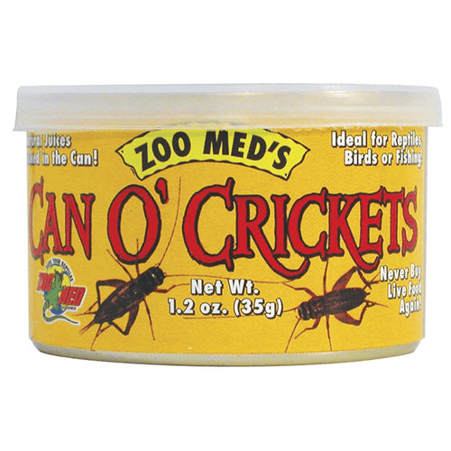 Zoo Med Can O' Crickets - 35 g | Pisces Pets