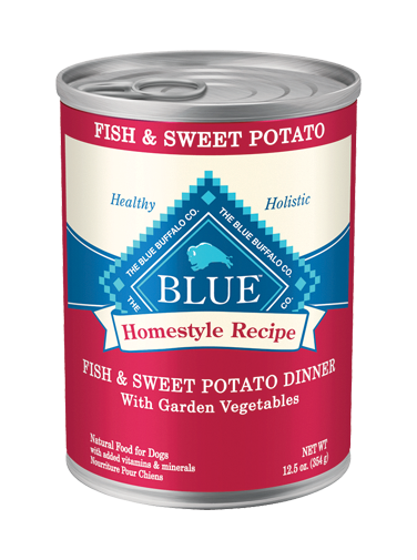 Blue Fish & Sweet Potato Dinner for Dogs 354 g | Pisces Pets