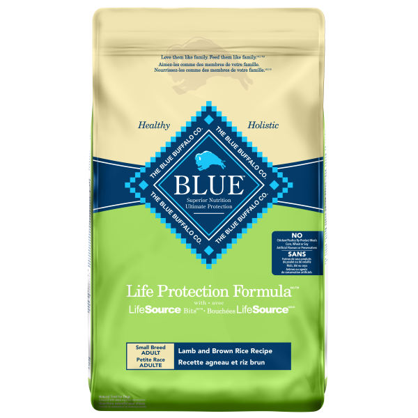 Blue Buffalo Life Protection Formula Lamb & Brown Rice Small Breed Dog Food - 6.8 kg | Pisces Pets