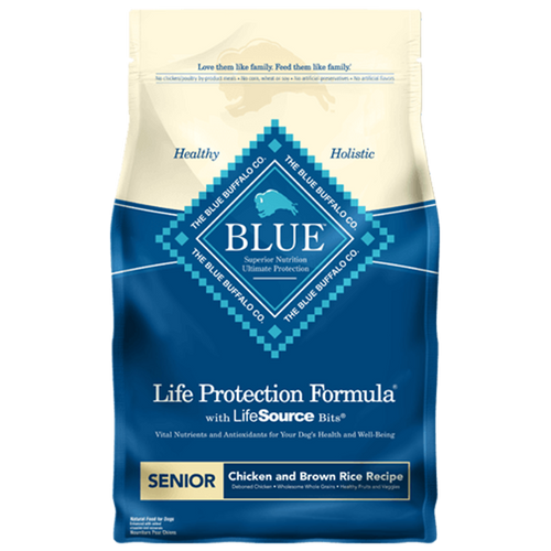 Blue Buffalo Life Protection Formula Senior Chicken and Brown Rice Recipe - 2.7kg | Pisces Pets