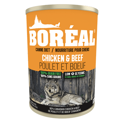 Boreal Chicken & Beef Dog Food 690 g | Pisces Pets