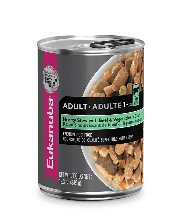 Eukanuba Adult Beef & Vegetable Stew Dog Food 354 g | Pisces Pets