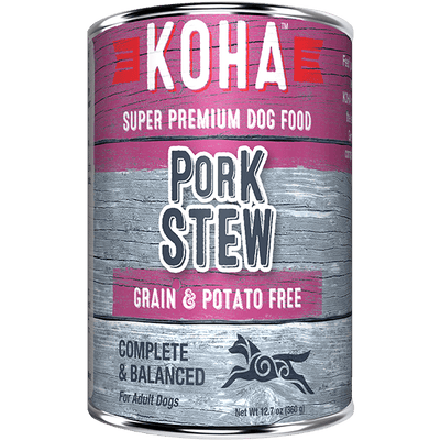 Koha Pork Stew Dog Food 360 g | Pisces Pets