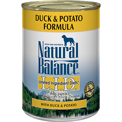 Natural Balance Limited Ingredient Diet Duck & Potato Formula 369 g | Pisces Pets
