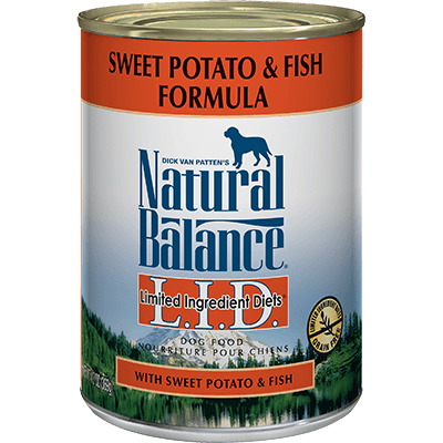 Natural Balance Limited Ingredient Diet Sweet Potato & Fish 369 g | Pisces Pets
