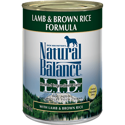 Natural Balance Limited Ingredient Diet Lamb & Brown Rice 369 g | Pisces Pets