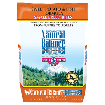 Natural Balance Sweet Potato & Fish Limited Ingredient Small Breed Dog Food - 2.04 kg | Pisces Pets