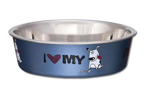 Loving Pets Bella Bowl - I Love My Dog