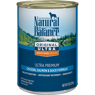 Natural Balance Ultra Chicken Salmon & Duck Formula 369 g | Pisces Pets