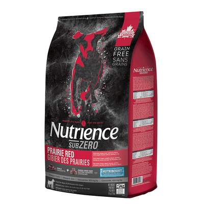 Nutrience SubZero Prairie Red Dog Food 10 kg | Pisces Pets
