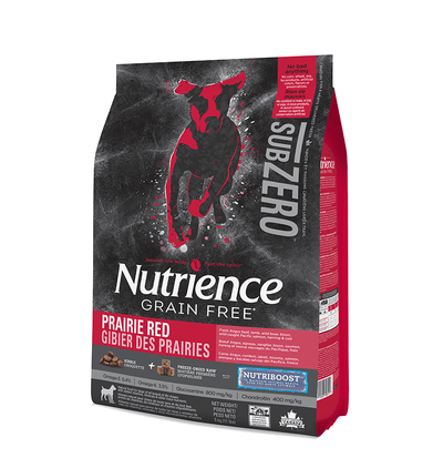 Nutrience SubZero Prairie Red Dog Food 5 kg | Pisces Pets