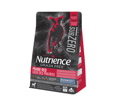 Nutrience SubZero Prairie Red Dog Food 2.27 kg | Pisces Pets
