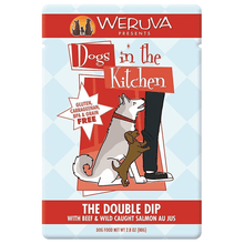 Dogs in the Kitchen The Double Dip Beef & Salmon 80 g Pouch | Pisces Pets