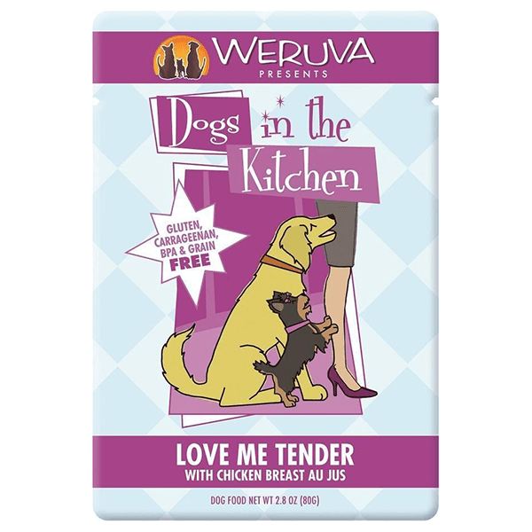 Dogs in the Kitchen Love Me Tender Chicken 80 g Pouch | Pisces Pets