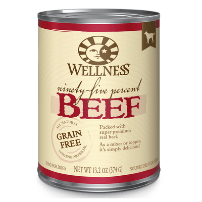 Wellness Ninety-Five Percent Beef 374 g | Pisces Pets