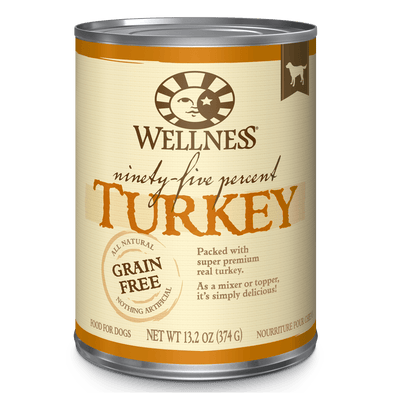 Wellness Ninety-Five Percent Turkey 374 g | Pisces Pets