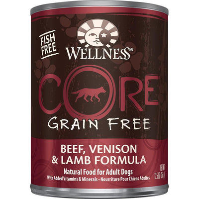 Wellness Core Grain Free Beef, Venison & Lamb Dog Food - 354 g - Special Order | Pisces Pets