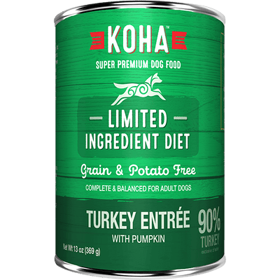 Koha Limited Ingredient Turkey Entree 369 g | Pisces Pets