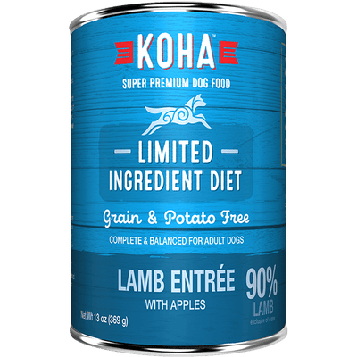 Koha Limited Ingredient Grass Fed Lamb Entree 369 g | Pisces Pets