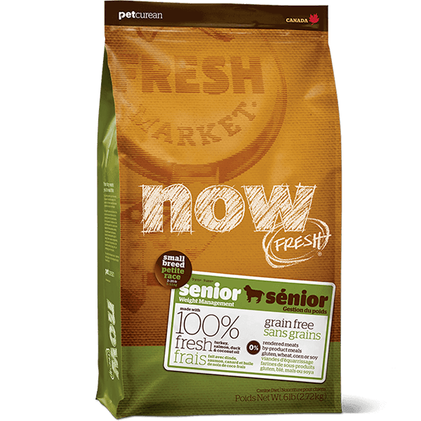 NOW Small Breed Senior Dog Food | Pisces Pets