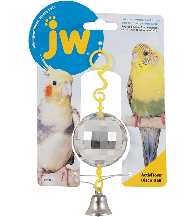 JW Pet Disco Ball Bird Toy | Pisces Pets