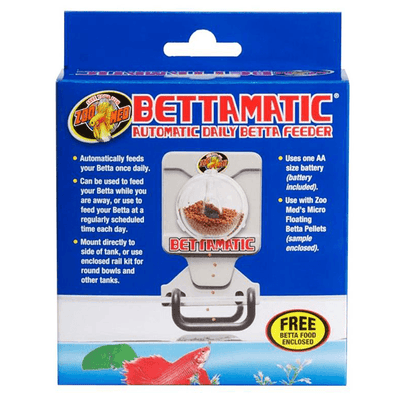 Bettamatic Automatic Daily Betta Feeder | Pisces Pets