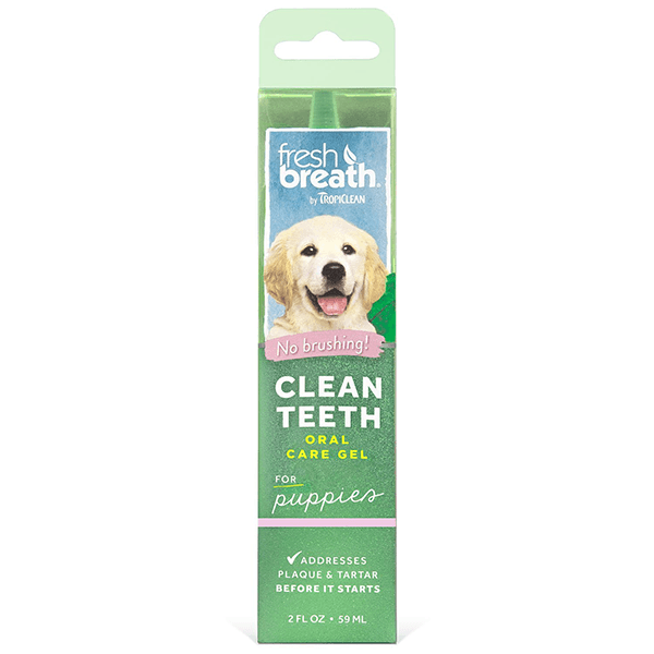 Tropiclean Fresh Breath Puppy Clean Teeth Gel | Pisces Pets