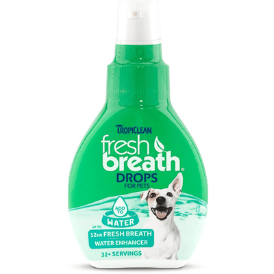 Tropiclean Fresh Breath Drops for Dogs | Pisces Pets